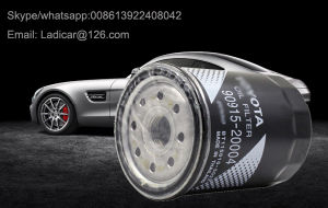 Filtro de Óleo de partes separadas da Toyota 90915-Yzze1, 90915-Yzzj1, 90915-Yzzj2, 90915-Yzze2, 90915-Yzzj3, 90915-Yzzj4, 90915-Yzzd2, 90915-Yzzd4, 90915-TD004, 90915-20004