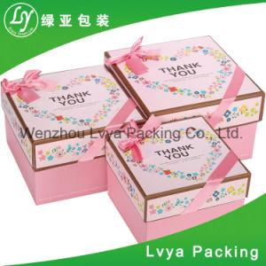 Impresos personalizados baratos Cosmetic Caja de papel para embalaje de regalo
