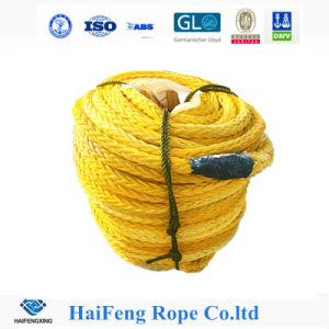 Il poliestere del filo UHMWPE di alta qualità 12 ha coperto la corda in mare aperto//PP di nylon /Polyester che attracca la corda del fante di marina della corda