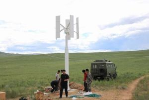 Énergie libre 600 watts générateur de turbine triphasé de vent à C.A. de 48 volts