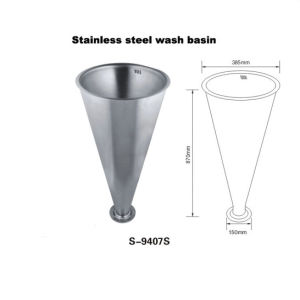 스테인리스 Steel Washbasin 9407s