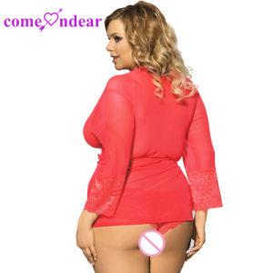 Nouveau design ODM Red Hot sexe Plus Size Robe de vente