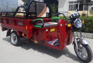 電池のTircycleの貨物電気3つの車輪のオートバイ、CCCの証明