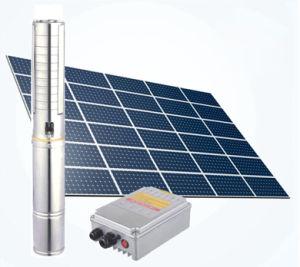 Neue angeschaltene Pumpe Gleichstrom-Solarwasser-Solarpumpe des Wasser-2018