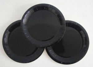Commerce de gros bon marché des plaques de papier de couleur noire pour le parti