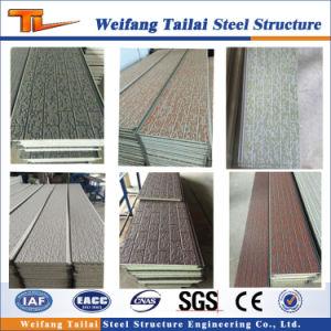 La Chine de la fabrication des panneaux sandwich pour la construction de maisons de la structure en acier