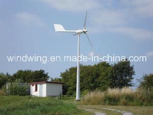 5kw de horizontale Turbogenerator van de Wind met de Goedkeuring van Ce