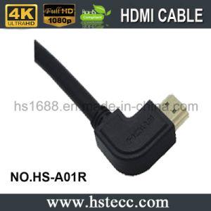 정도 HDMI 케이블 - 회전대 HDMI 케이블이 고성능에 의하여 90 자전한다