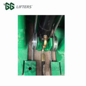 Dubbel Hydraulisch de liftplatform van de Cilinder voor auto