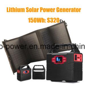 Mini sistema Solar Portátil Gerador de Energia Portátil