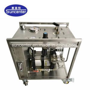 Max 6000 bars de pression des pompes hydraulique entraînée par air