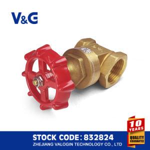 여성 스레드와 ISO228 구리 금관 악기 게이트 밸브 (VG11.90011)