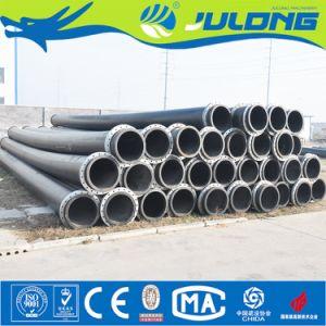 Tubo della draga dell'HDPE con la flangia per il progetto di dragaggio