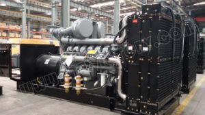 produção de eletricidade 375kVA industrial resistente certificada ISO com o motor de Alemanha Deutz