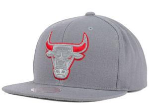 Tecidos de algodão bordados equipado Snapback Hat Cap