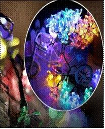 Niedrige Solar-LED Zeichenkette-im Freien helle feenhafte WeihnachtenEngry Lampe des Fabrik-Verkaufs-