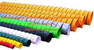 Спиральная ПВХ Гибкий воздуховод вентиляции