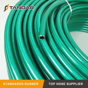 Pressão SAE flexível100 R7 Trança têxteis reforçados PA a mangueira hidráulica
