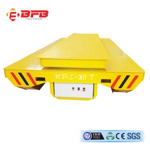 Под действием электропривода автомобиль для перевозки Cylindric передачи объектов на железнодорожном транспорте (KPJ-30T)