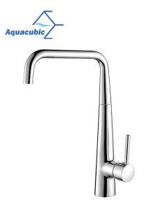 真鍮の普及したプルダウンクロム台所の流しのコック(AF1018-5)