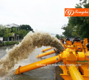 منقولة الطوارئ Desiel محرك مضخة مياه (مجموعة) للسيطرة على الفيضانات