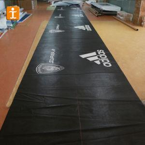 Bandiera esterna della maglia del vinile del PVC con gli occhielli (TJ-036)