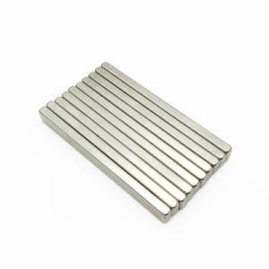 N50 Magneet van de Strook van het Blok van de Zeldzame aarde van de Staaf van het Neodymium de Sterke Kubusvormige