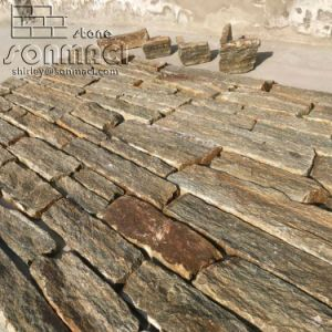 La Chine Natual Rusty Quartz pierre fine feuille de placage