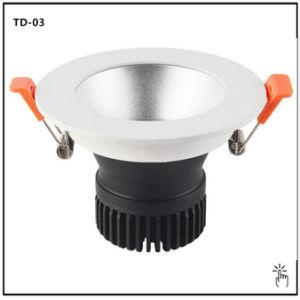 防眩Triac/0-10V/Dali Dimmable 30W (7W-80W) LED Downlight