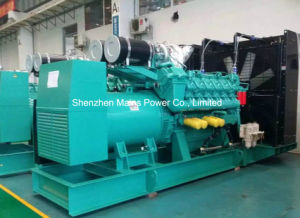 1100kw 1375kVA Cummins de energía en espera del Generador Diesel Industrial