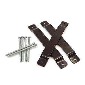 Beste Qualitätsschwarzes Puder-Beschichtung-kundenspezifischer Metallzaun-Halter