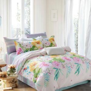 Conjuntos de roupa de cama de algodão barato preço com impressões