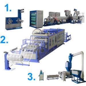 ベストセラーのエジプトPSの泡の食糧容器の生産ライン