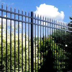 Segurança de aço Picket exterior a Régua/Steel Picket cerca para jardim