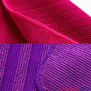 赤い二重目的Microfiberの台所皿の布