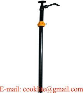 공격적인 화학제품 및 용매를 위한 나일론 손 수직 상승 드럼 분배 펌프