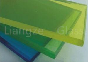 Ontruim/Gekleurd Gelamineerd Glas voor Kogelvrij/de Bouw met Ce/ISO