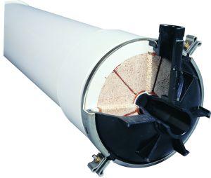 Membrana de PVC PVDF/UF equipos para tratamiento de agua municipal