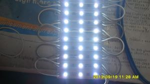 Plastic Witte Kleur 5050 van Hull 3 Lichte LEIDENE van de Spaander Module