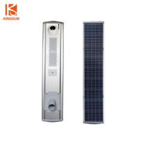 Jardin d'accueil d'éclairage LED solaire Rue lumière intégrée avec caméra vidéo et le capteur de mouvement 30W