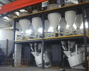 Usare la linea di produzione di ceramica della sabbia di ultima tecnologia