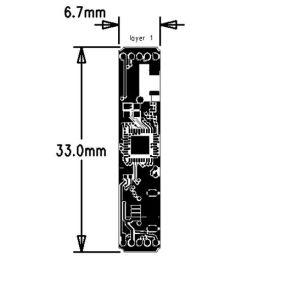El Año nuevo 2019 Auricular estéreo Bluetooth Módulo con
