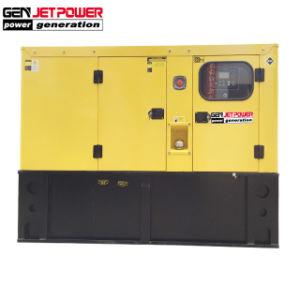100kVAディーゼルインバーター発電機の携帯用80kw無声発電機