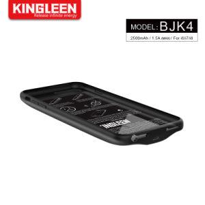 IPhone 8/7 Caja de Batería 2500mAh Batería Recargable del portátil Batería ampliada para Apple iPhone iPhone 7 & 8 Estuche de carga de copias de seguridad de protección de Banco de potencia (4,7 pulg.)