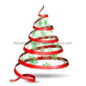 MOQ 100yardsのクリスマスのギフトのサテンのGrosgrainのリボンのカスタムロゴの印刷
