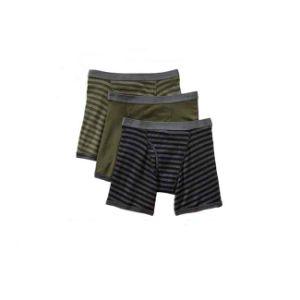 La Mens algodón Ropa Interior Boxer Shorts con el logotipo de la banda