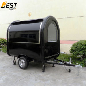 La norma europea de Fast Food Mobile Shaved Ice Cart