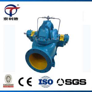 Pompa ad acqua centrifuga di rivestimento lungo un asse spaccata orizzontale della doppia entrata di Liancheng