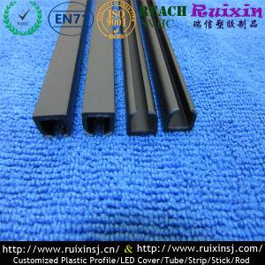 Пластиковый черный PS шторки контакт индивидуальные пластиковые профиль