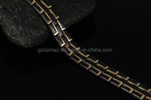 B15-High Qualitätsmagnetisches Titangermanium-Edelstahl-Armband mit Frau